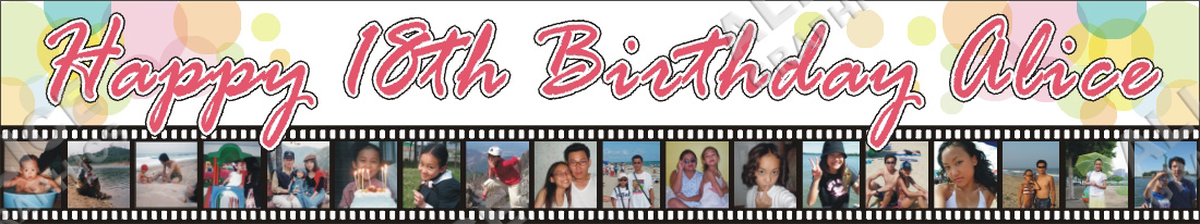 1 6ftx9ft personalized happy 18th birthday banner 200906052220