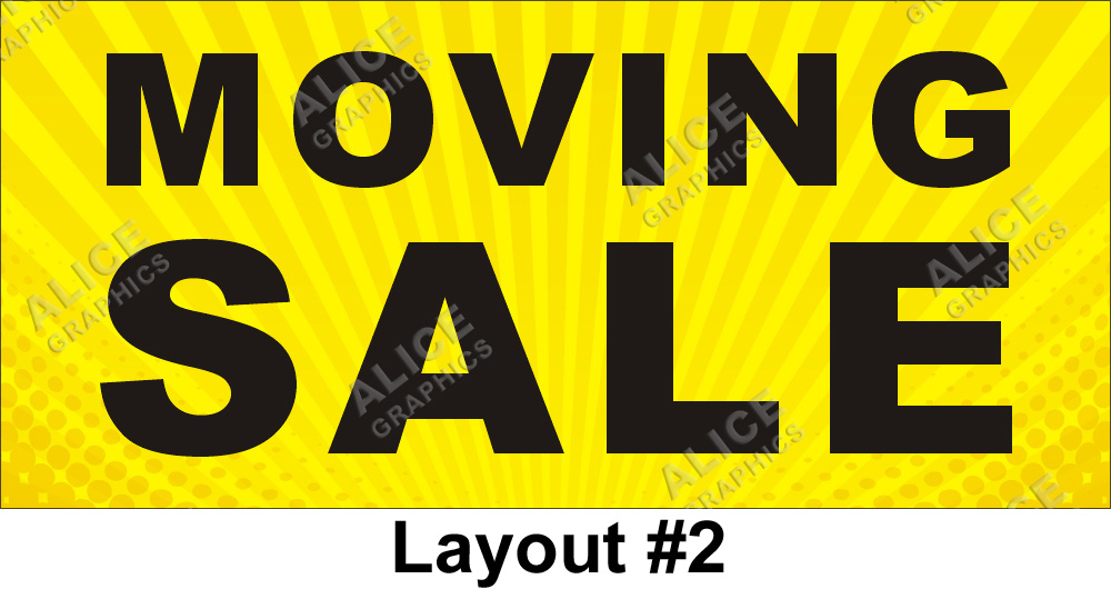 2ftx4ft moving sale banner alice graphics